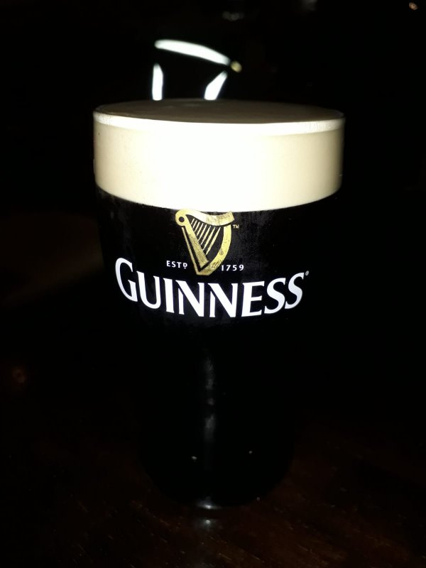 Pint of Guinness, Dublin