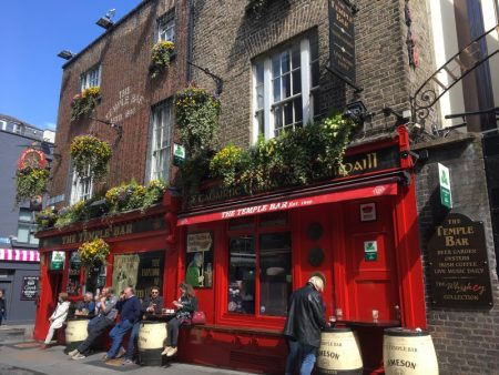 The Temple Bar, what to see in Dublin