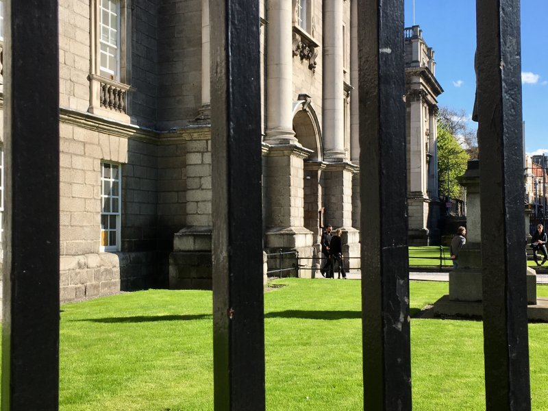 Trinity College, self-guided Dublin walking tour