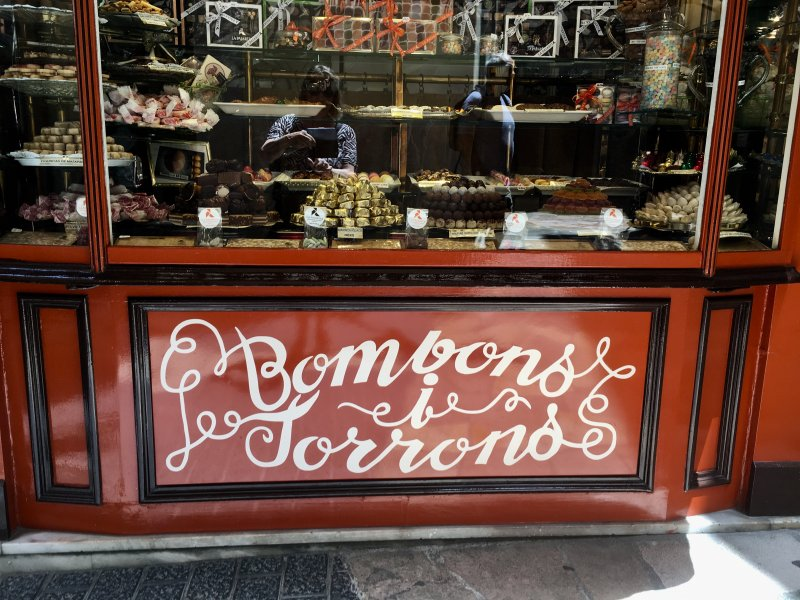 Bombons i Torrons, Palma de Mallorca old town