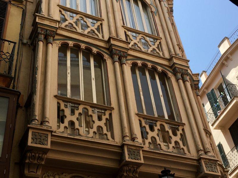 Central Palma modernist building