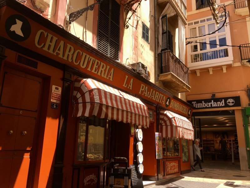 Charcuteria La Pajarita, Palma de Mallorca old town