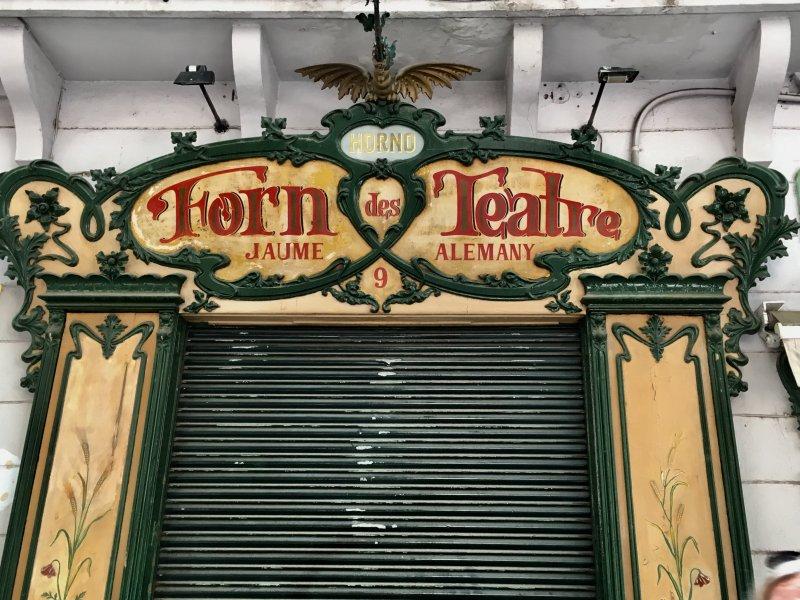 Forn des Theatre, Palma de Mallorca