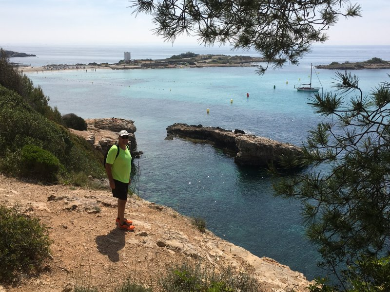 Beautiful Mallorca: Coastal cliffs of Portals Nous