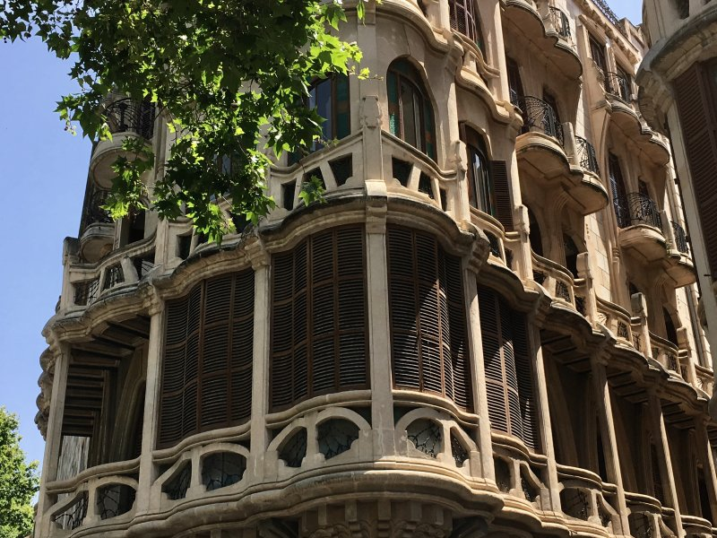 Beautiful Mallorca: Palma modernist buildings