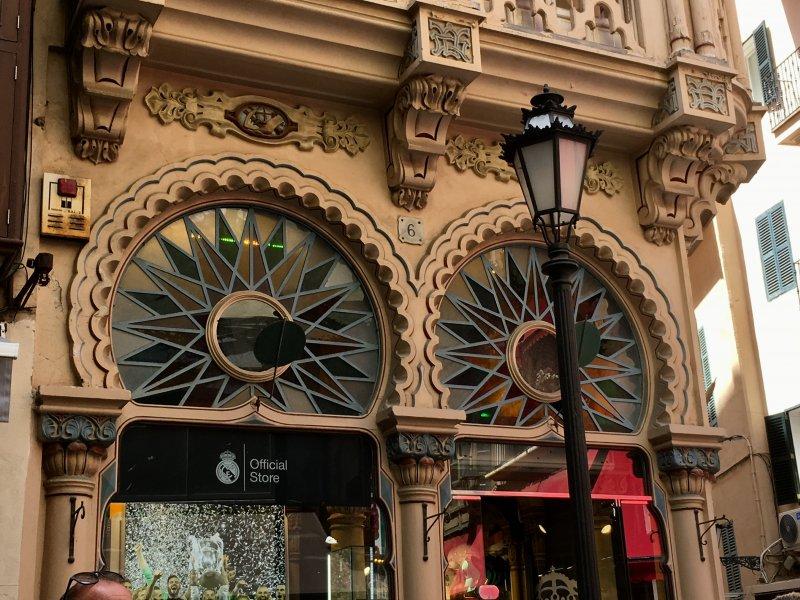 Palma de Mallorca old town architecture