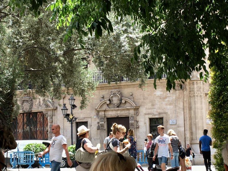 Placa de Cort, Palma de Mallorca old town