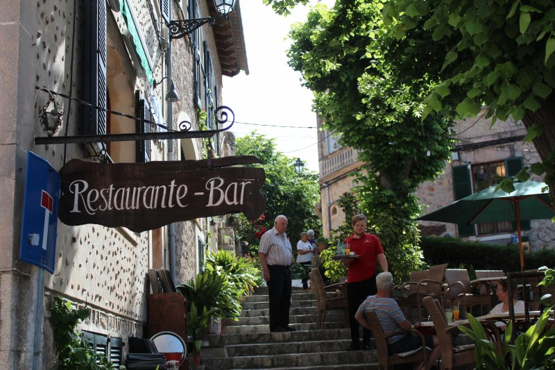 Beautiful Mallorca: Restaurante Bar in Valldemossa