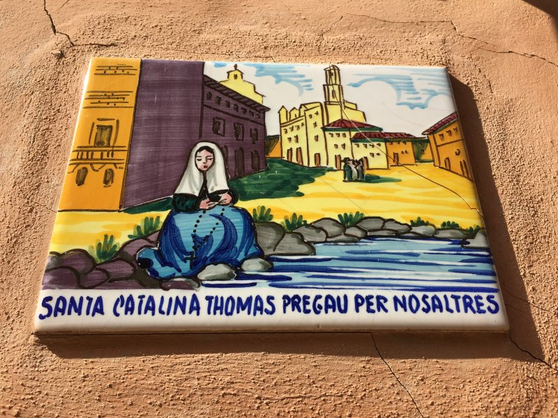 Santa Catalina Thomas tile, Valldemossa