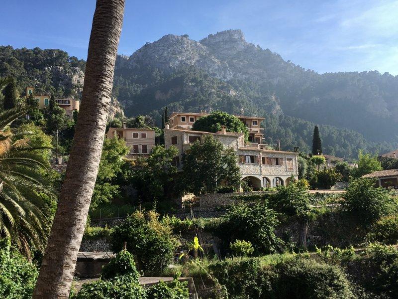 View of Estellencs, Serra de Tramuntana, Mallorca