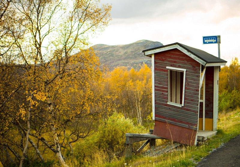Kilpisjärvi bus stop