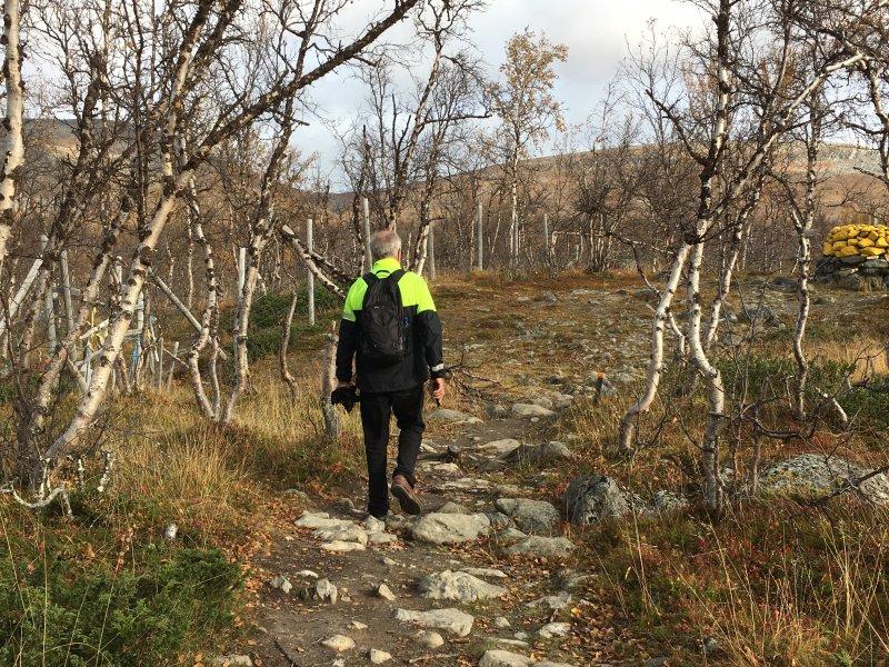 Hike to Lake Kuohkimajärvi