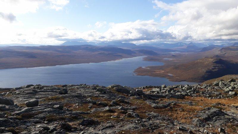Saana view to Norway