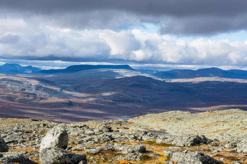 Saana view towards Norway