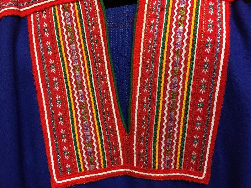 Traditional Sámi clothing