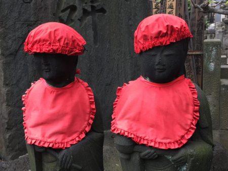Buddha statues, Yanaka Tokyo