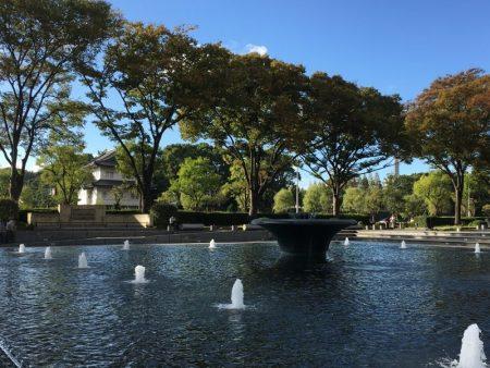 Fountain in Marunouchi, Tokyo