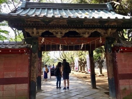 Gate to Tosho-gu Shrine