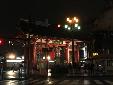Kaminarimon Gate to Nakamise-dori