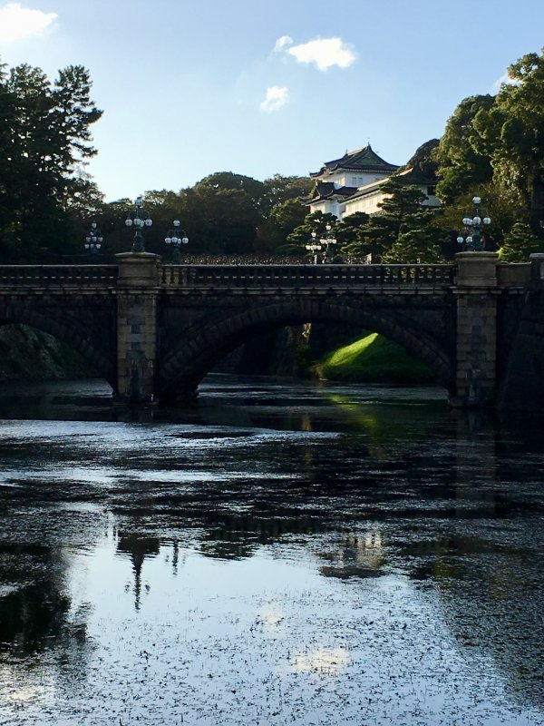 Walks in Old Tokyo: Nijubashi Bridge and Imperial Palace