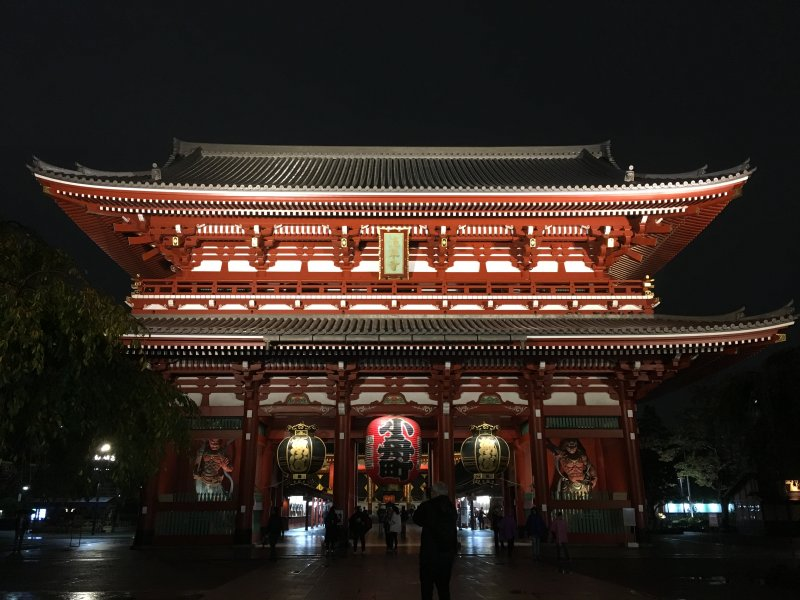 Senso-Ji Temple Main Hall