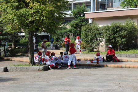 Tokyo children sports team
