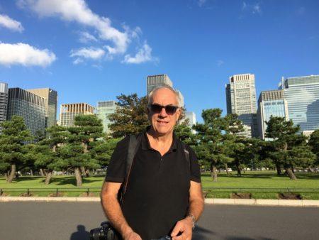 Visiting Imperial Palace Plaza, Tokyo