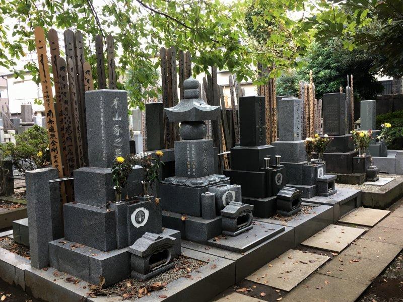 Walks in Old Tokyo, Yanaka Cemetery