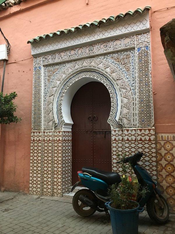 Marrakech, the pink desert city