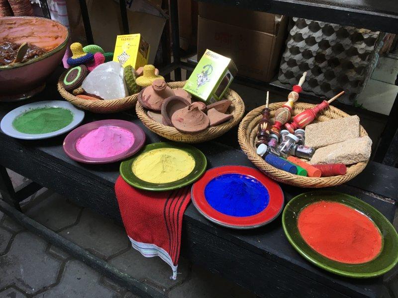 Dyers' Souk, Marrakech