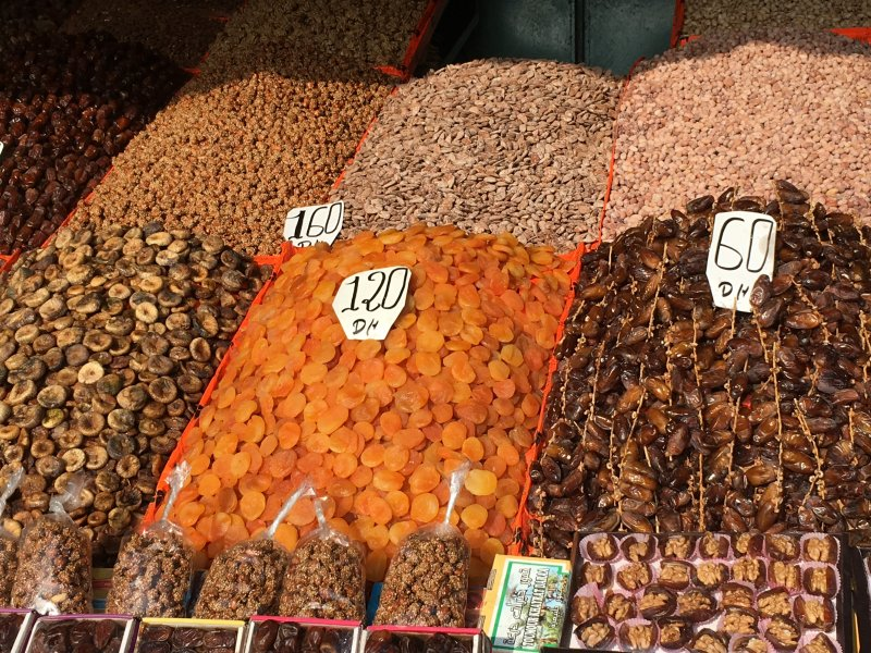 Jemaa el-Fna date stall