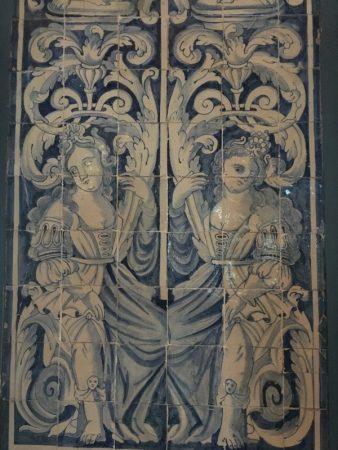 Palacio Nacional de Sintra azulejos, Portugal