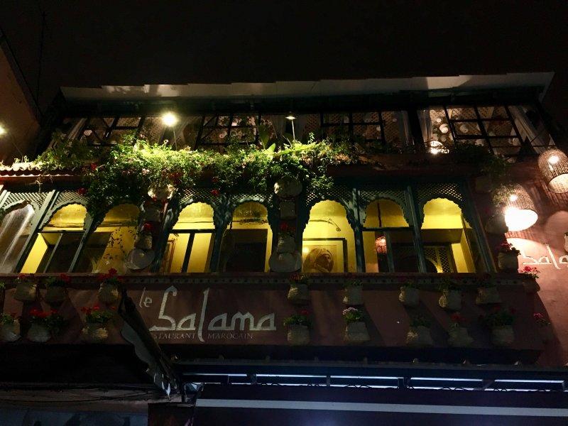 Restaurant Le Salama, Jemaa el-Fna, Marrakech