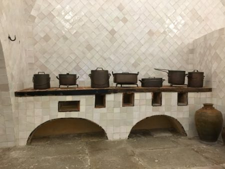 Sintra National Palace kitchen