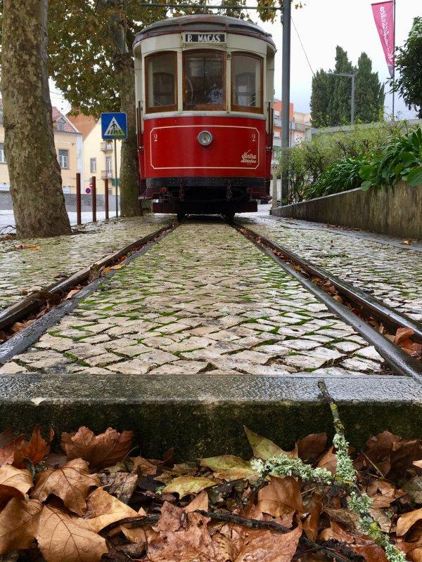 Sintra tourist tram to Praia da Maca