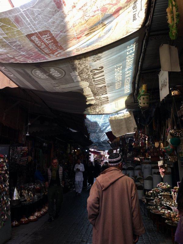 In the Souks of Marrakech