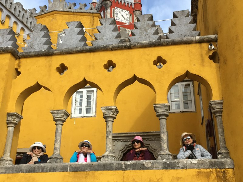 Visiting the palaces of Sintra