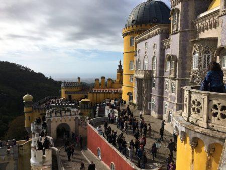 Visiting Pena Palace, Sintra