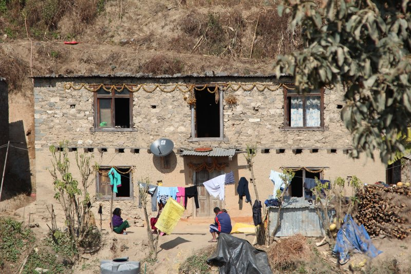 Nagarkot day hike through villages
