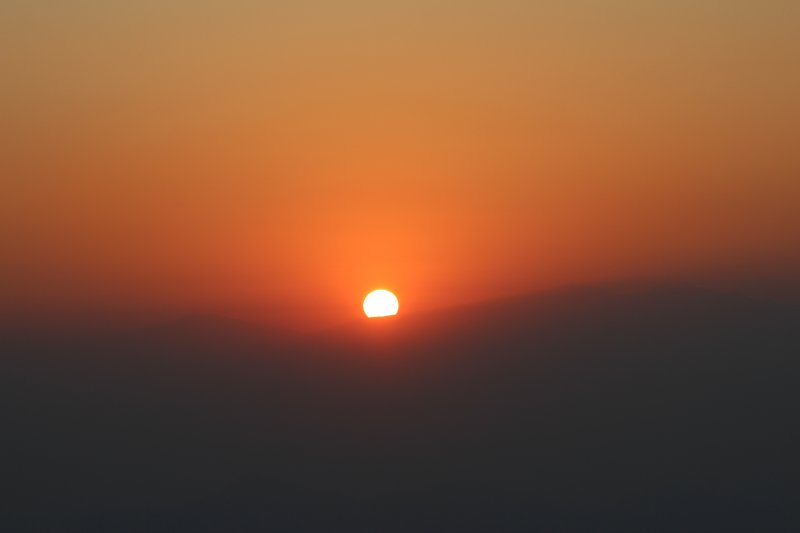 Sunrise over Himalaya