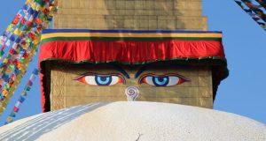 Around Kathmandu: Boudanath temple
