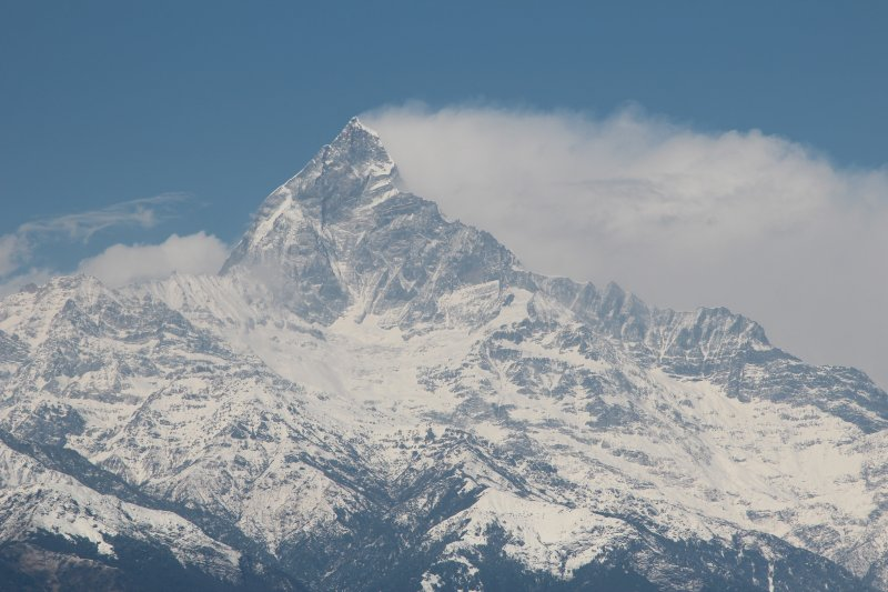 Fishtail, Annapurnas, seen from Sarangkot