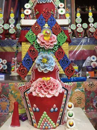 Jangchub Choeling Monastery Tibetan decoration