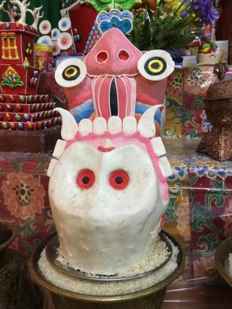 Jangchub Choeling Monastery Tibetan statue