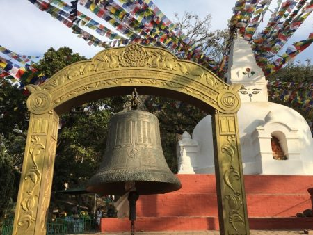 Kathmandu Monkey Temple bell