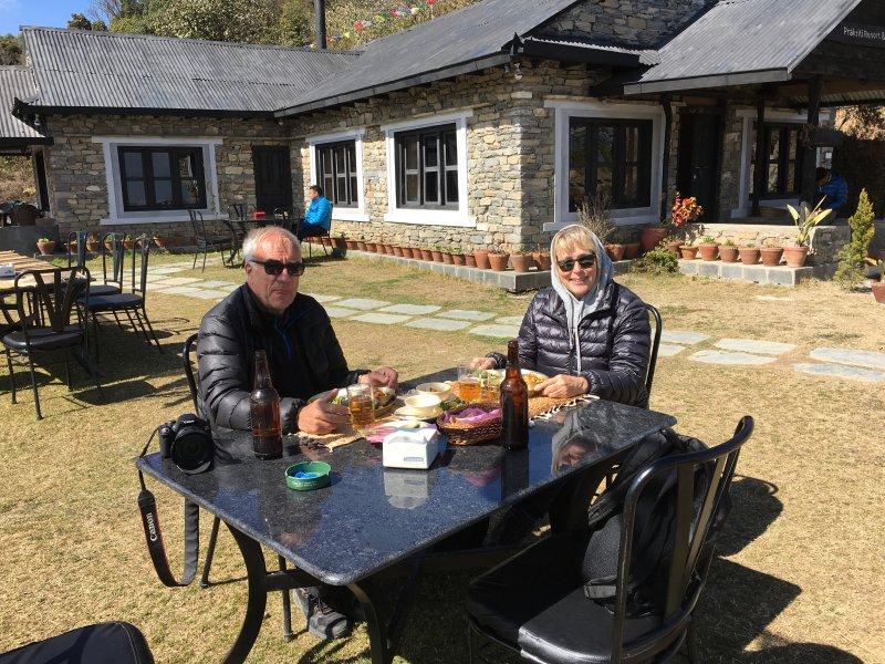 Lunch at Prakriti Resort, Shivapuri Nagarjun National Park