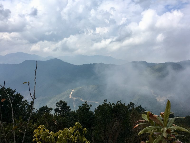 Mountains from Chandragiri Hills