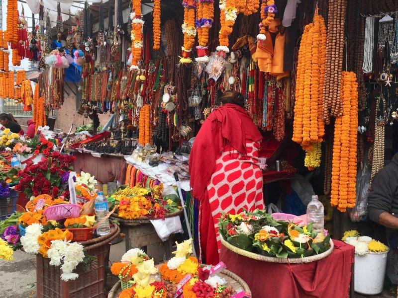 Pashupatinath stalls