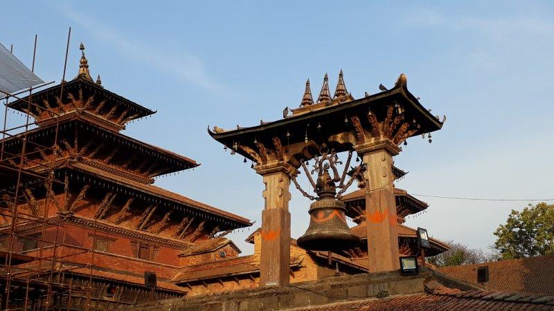 Patan Durbar Square bell tower