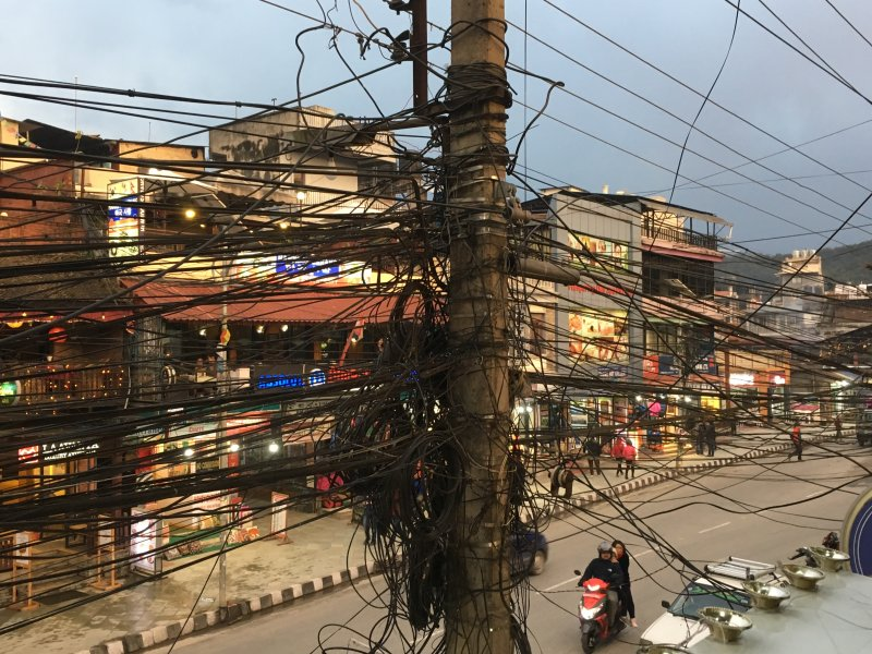 Pokhara electric cables